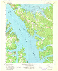 Birmingham Point Kentucky Historical topographic map, 1:24000 scale, 7.5 X 7.5 Minute, Year 1967