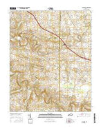 Caledonia Kentucky Current topographic map, 1:24000 scale, 7.5 X 7.5 Minute, Year 2016 from Kentucky Map Store