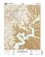 Campbellsville Kentucky Current topographic map, 1:24000 scale, 7.5 X 7.5 Minute, Year 2016 from Kentucky Map Store