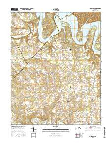 Cane Valley Kentucky Current topographic map, 1:24000 scale, 7.5 X 7.5 Minute, Year 2016