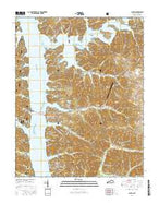 Canton Kentucky Current topographic map, 1:24000 scale, 7.5 X 7.5 Minute, Year 2016 from Kentucky Map Store