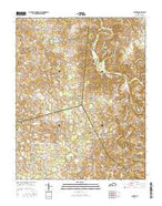 Center Kentucky Current topographic map, 1:24000 scale, 7.5 X 7.5 Minute, Year 2016 from Kentucky Map Store