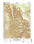 Colesburg Kentucky Current topographic map, 1:24000 scale, 7.5 X 7.5 Minute, Year 2016 from Kentucky Map Store