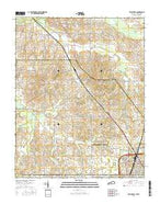 Crutchfield Kentucky Current topographic map, 1:24000 scale, 7.5 X 7.5 Minute, Year 2016 from Kentucky Map Store