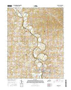 Cynthiana Kentucky Current topographic map, 1:24000 scale, 7.5 X 7.5 Minute, Year 2016 from Kentucky Map Store