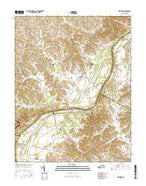Delaware Kentucky Current topographic map, 1:24000 scale, 7.5 X 7.5 Minute, Year 2016 from Kentucky Map Store