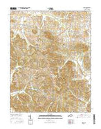 Dixon Kentucky Current topographic map, 1:24000 scale, 7.5 X 7.5 Minute, Year 2016 from Kentucky Map Store
