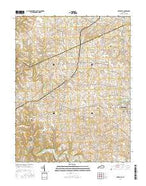 Elizaville Kentucky Current topographic map, 1:24000 scale, 7.5 X 7.5 Minute, Year 2016 from Kentucky Map Store