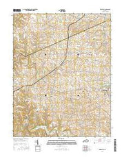 Elizaville Kentucky Current topographic map, 1:24000 scale, 7.5 X 7.5 Minute, Year 2016 from Kentucky Maps Store