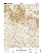 Elkton Kentucky Current topographic map, 1:24000 scale, 7.5 X 7.5 Minute, Year 2016 from Kentucky Map Store