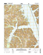 Fairdealing Kentucky Current topographic map, 1:24000 scale, 7.5 X 7.5 Minute, Year 2016 from Kentucky Map Store