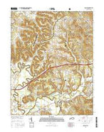 Farmers Kentucky Current topographic map, 1:24000 scale, 7.5 X 7.5 Minute, Year 2016 from Kentucky Map Store