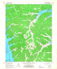 Fenton Kentucky Historical topographic map, 1:24000 scale, 7.5 X 7.5 Minute, Year 1967