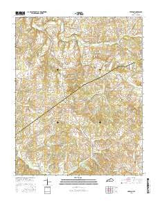 Freedom Kentucky Current topographic map, 1:24000 scale, 7.5 X 7.5 Minute, Year 2016