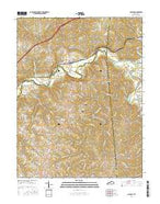 Glencoe Kentucky Current topographic map, 1:24000 scale, 7.5 X 7.5 Minute, Year 2016 from Kentucky Map Store