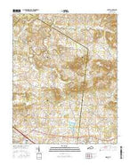 Gracey Kentucky Current topographic map, 1:24000 scale, 7.5 X 7.5 Minute, Year 2016 from Kentucky Map Store
