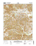 Greenville Kentucky Current topographic map, 1:24000 scale, 7.5 X 7.5 Minute, Year 2016 from Kentucky Map Store