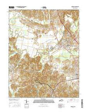 Hartford Kentucky Current topographic map, 1:24000 scale, 7.5 X 7.5 Minute, Year 2016 from Kentucky Maps Store