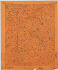 Hazard Kentucky Historical topographic map, 1:125000 scale, 30 X 30 Minute, Year 1891