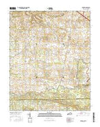 Herndon Kentucky Current topographic map, 1:24000 scale, 7.5 X 7.5 Minute, Year 2016 from Kentucky Map Store