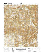 Honey Grove Kentucky Current topographic map, 1:24000 scale, 7.5 X 7.5 Minute, Year 2016 from Kentucky Map Store