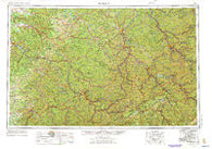Jenkins Kentucky Historical topographic map, 1:250000 scale, 1 X 2 Degree, Year 1957