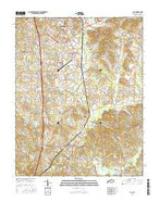 Lily Kentucky Current topographic map, 1:24000 scale, 7.5 X 7.5 Minute, Year 2016 from Kentucky Map Store