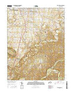 Little Hickman Kentucky Current topographic map, 1:24000 scale, 7.5 X 7.5 Minute, Year 2016 from Kentucky Map Store