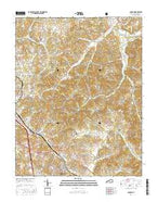 London Kentucky Current topographic map, 1:24000 scale, 7.5 X 7.5 Minute, Year 2016 from Kentucky Map Store
