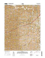 McBrayer Kentucky Current topographic map, 1:24000 scale, 7.5 X 7.5 Minute, Year 2016 from Kentucky Map Store