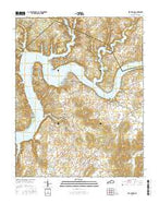 Mill Springs Kentucky Current topographic map, 1:24000 scale, 7.5 X 7.5 Minute, Year 2016 from Kentucky Map Store
