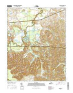 Millport Kentucky Current topographic map, 1:24000 scale, 7.5 X 7.5 Minute, Year 2016 from Kentucky Map Store