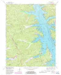 Mont Kentucky Historical topographic map, 1:24000 scale, 7.5 X 7.5 Minute, Year 1967