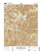Montpelier Kentucky Current topographic map, 1:24000 scale, 7.5 X 7.5 Minute, Year 2016 from Kentucky Map Store
