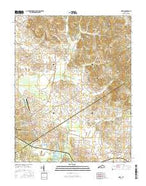 Nebo Kentucky Current topographic map, 1:24000 scale, 7.5 X 7.5 Minute, Year 2016 from Kentucky Map Store