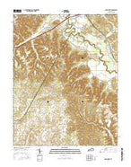 Nelsonville Kentucky Current topographic map, 1:24000 scale, 7.5 X 7.5 Minute, Year 2016 from Kentucky Map Store