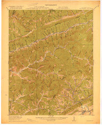 Nolansburg Kentucky Historical topographic map, 1:62500 scale, 15 X 15 Minute, Year 1919