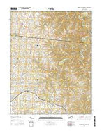 North Pleasureville Kentucky Current topographic map, 1:24000 scale, 7.5 X 7.5 Minute, Year 2016 from Kentucky Map Store