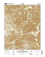 Olney Kentucky Current topographic map, 1:24000 scale, 7.5 X 7.5 Minute, Year 2016 from Kentucky Map Store