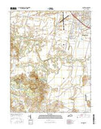 Panther Kentucky Current topographic map, 1:24000 scale, 7.5 X 7.5 Minute, Year 2016 from Kentucky Map Store