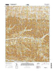 Parksville Kentucky Current topographic map, 1:24000 scale, 7.5 X 7.5 Minute, Year 2016 from Kentucky Maps Store