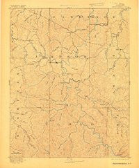 Prestonsburg Kentucky Historical topographic map, 1:125000 scale, 30 X 30 Minute, Year 1892