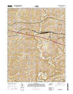 Simpsonville Kentucky Current topographic map, 1:24000 scale, 7.5 X 7.5 Minute, Year 2016 from Kentucky Map Store