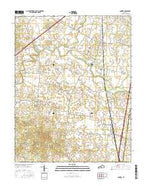 Sonora Kentucky Current topographic map, 1:24000 scale, 7.5 X 7.5 Minute, Year 2016 from Kentucky Map Store