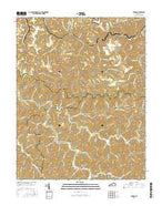Thomas Kentucky Current topographic map, 1:24000 scale, 7.5 X 7.5 Minute, Year 2016 from Kentucky Map Store