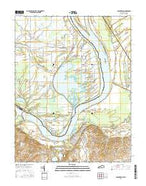 Uniontown Kentucky Current topographic map, 1:24000 scale, 7.5 X 7.5 Minute, Year 2016 from Kentucky Map Store