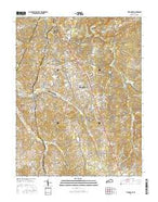 Vine Grove Kentucky Current topographic map, 1:24000 scale, 7.5 X 7.5 Minute, Year 2016 from Kentucky Map Store