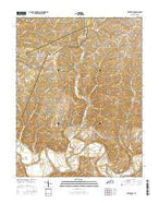 Waterford Kentucky Current topographic map, 1:24000 scale, 7.5 X 7.5 Minute, Year 2016 from Kentucky Map Store