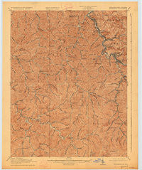 Williamson Kentucky Historical topographic map, 1:62500 scale, 15 X 15 Minute, Year 1918