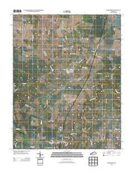 Woodburn Kentucky Historical topographic map, 1:24000 scale, 7.5 X 7.5 Minute, Year 2013